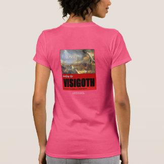 Roma, A.D. 410, despidiendo por Visigoth Camiseta