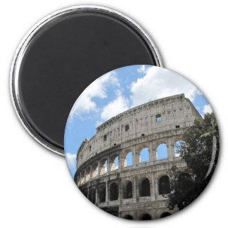 Roma antigua Colosseum Imán Redondo 5 Cm