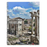 Roma antigua libros de apuntes con espiral