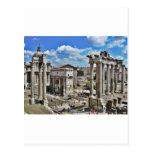 Roma antigua postal