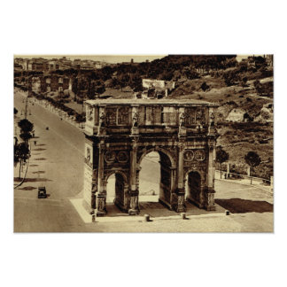 Roma, arco de Constantina Poster