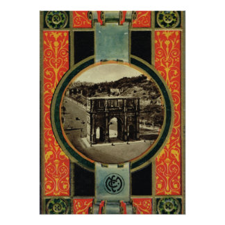 Roma, arco de Constantina Póster