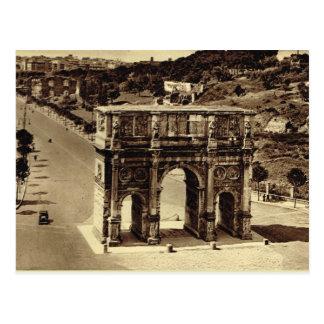 Roma, arco de Constantina Tarjetas Postales
