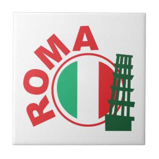 Roma Azulejo Cuadrado Pequeño