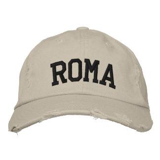 Roma bordó el gorra gorra de béisbol bordada
