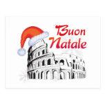 Roma Buon Natale Postal