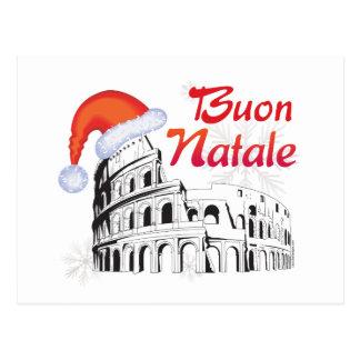 Roma Buon Natale Postcard