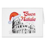 Roma Buon Natale Tarjeta De Felicitación