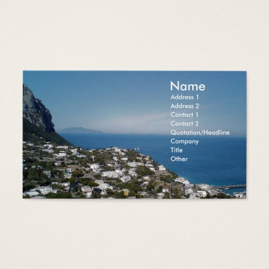 Roma Business and Travel Business Card