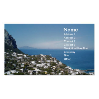 Roma Business and Travel Business Card Templates