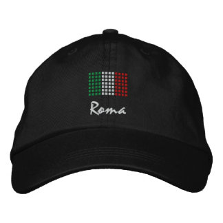 Roma Cap - Rome in Italian Hat Embroidered Baseball Cap