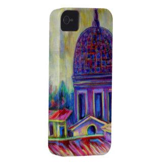 Roma, caso de la bella arte para el iphone 4 iPhone 4 protectores