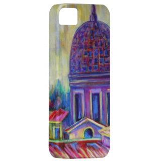 Roma, caso de la bella arte para el iphone 5 funda para iPhone 5 barely there