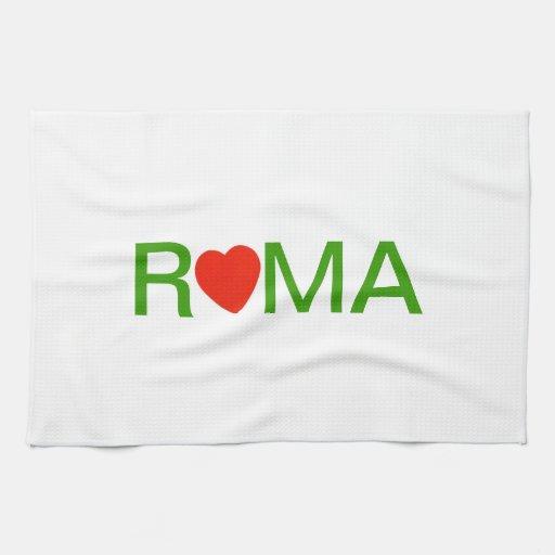 Roma Ciudad Eterna Toallas De Cocina