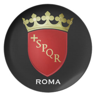 Roma* Coat of Arms Plate Plate