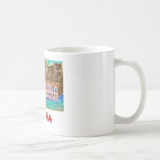 ROMA Coffee Cup Classic White Coffee Mug