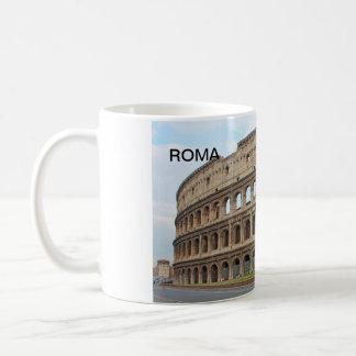 Roma coliseum coffee mug