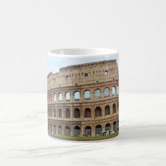 Roma coliseum classic white coffee mug