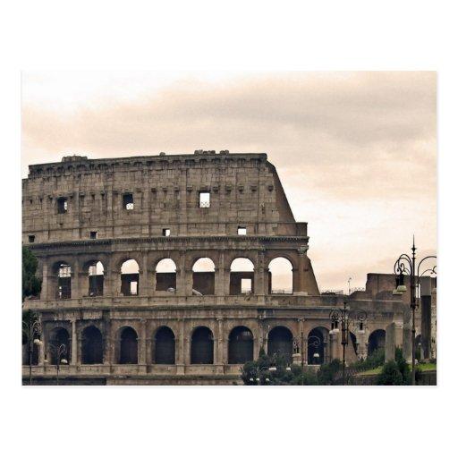 Roma, colosseo postal
