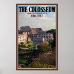 Roma - Colosseum del foro Posters