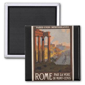 Roma con el Mont-Cenis Imán Cuadrado