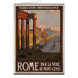 Roma con el Mont-Cenis Felicitaciones