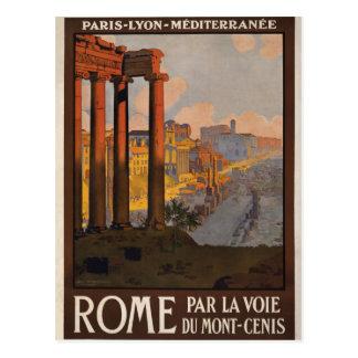 Roma con el Mont-Cenis Postal