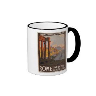Roma con el Mont-Cenis Tazas