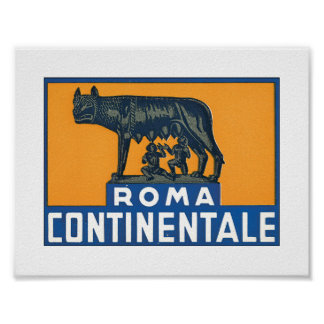 Roma Continentale Póster