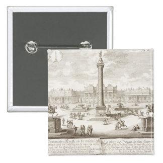 Roma cuadrada de Trajan, 'de historis del einer de Pin Cuadrado