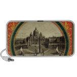 Roma, cubierta 1900 de la guía turística altavoces de viaje