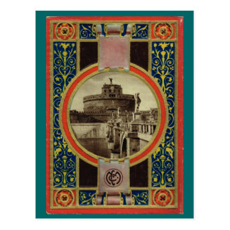 Roma, cubierta de libro de la postal 4 1900