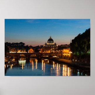 Roma del poster, de San Pedro y de la Ciudad del V Póster
