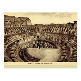 Roma, dentro del Colosseum Postal