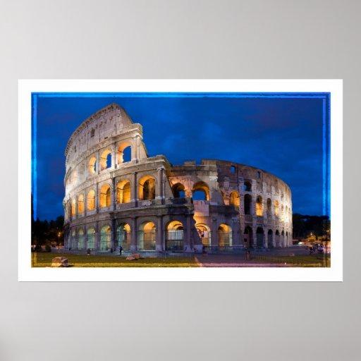 Roma el Colosseum Poster