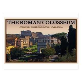 Roma - el foro y el Colosseum romanos Tarjetas Postales