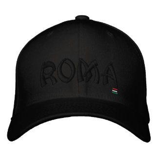 ROMA, EMBROIDERED BASEBALL CAP