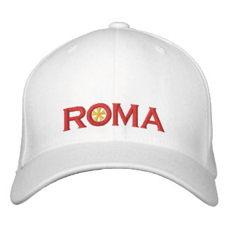 Roma Embroidered Baseball Hat
