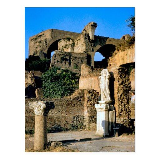 Roma; en el foro 2 postales
