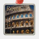 Roma en la noche adorno para reyes