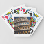 Roma en la noche baraja cartas de poker