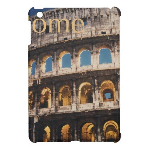 Roma en la noche iPad mini fundas