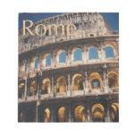 Roma en la noche libretas para notas