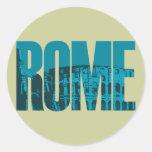 Roma Etiquetas Redondas