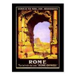 Roma expresa tarjetas postales