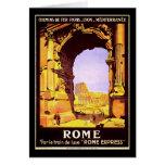 Roma expresa tarjeton