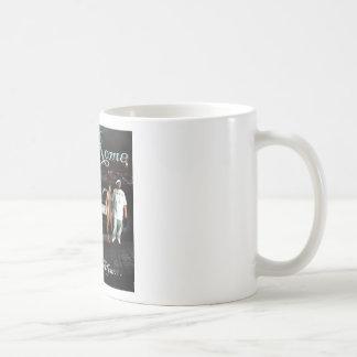 Roma grande - todo el asunto negro - cubierta del taza de café
