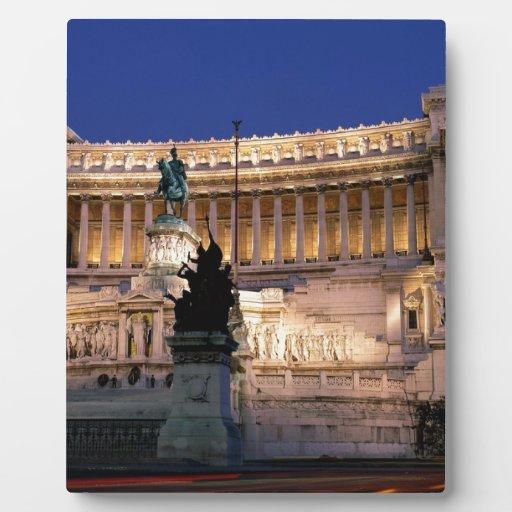 Roma hermosa, Italia Placa