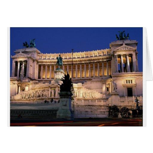 Roma hermosa, Italia Tarjeta De Felicitación