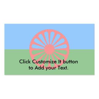 Roma, India Business Card Template